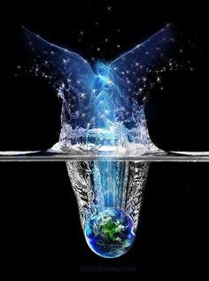 Water Has Memory.It can be charged with the energy of love,peace etc,,,,Masaru Emoto  (this man is a genius! Love him..)