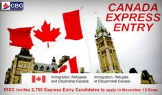 IRCC invites 2,750 Express Entry Candidates to Apply in November 15 Draw