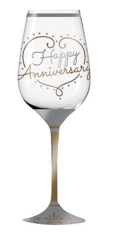 Evergreen Enterprises, Inc Refresh Wine Happy Anniversary Wine Glass Anniversary Wishes For Friends, Wedding Anniversary Quotes, Great Anniversary Gifts, Anniversary Greetings, Anniversary Cards, Happy Aniversary, Birthday Photos, Birthday Cards, Happy Birthday