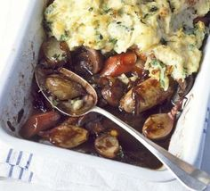 Sausage & spring mash pie - this is seriously good. Once the prep is done and it's bubbling away you're in for a treat! Made portions, recipe scales up well, allow extra time in the oven. Sausage Recipes, Pork Recipes, New Recipes, Cooking Recipes, Sausage And Mash, Bbc Good Food Recipes, Mashed Sweet Potatoes, Spring Recipes, Main Meals