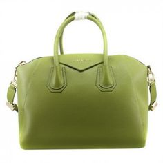 266804c437 Givenchy Large Antigona Bags on Sale - Classic Replica Givenchy Large Antigona  Bag Clemence Leather 9981 Green