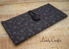 Carteira /Cotton wallet   www.facebook.com/LindyCrafts