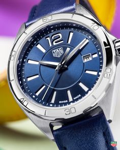 Turn up your glow factor this summer with the TAG Heuer Formula 1 Lady Blue. bd2068b26d