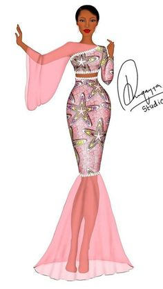 African Fashion Designers, African Fashion Ankara, Latest African Fashion Dresses, African Print Fashion, African Dresses For Kids, African Prom Dresses, African Fashion Traditional, Fashion Illustration Dresses, Aso