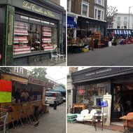 A Walking Tour of One of London's Finest Market Streets