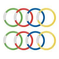 Intex Underwater Diving Pool Toy Rings - (8 Pack)  I VMInnovations.com #summer #outdoors #pool