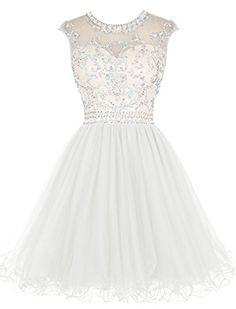 Tideclothes Short Beading Prom Dress Tulle Homecoming Dre... https://www.amazon.com/dp/B019GXFLPK/ref=cm_sw_r_pi_dp_CtWLxbQ9ABFCG