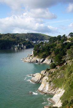 Rocky Coastline, Devon, England