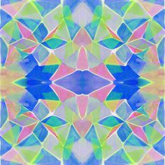 Chroma Blue by Amy Sia http://society6.com/AmySia/Chroma-Blue_Print#1=45 http://www.denydesigns.com/collections/art-products/at-chroma-blue