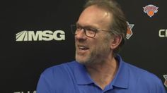 Interim head coach Kurt Rambis on his relationship with the players and getting the Knicks into the playoffs this year.