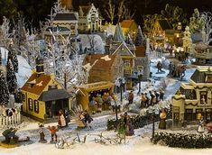 Afbeeldingsresultaat voor kersthuisjes