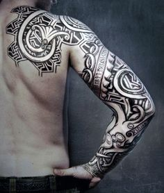 Viking Symbols Tattoo For Men