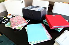 IHeart Organizing: Organizing Our Paper Piles