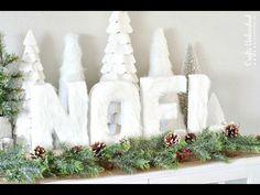 Episode 1: Dollar Tree  Christmas NOEL DIY