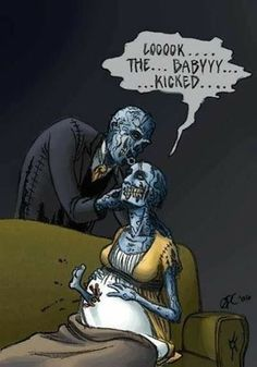 Zombie Comic Art