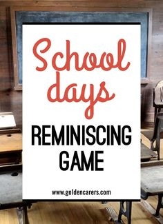 This is a wonderful game that can be adapted to any occasion. Residents will enjoy reminiscing and sharing stories.