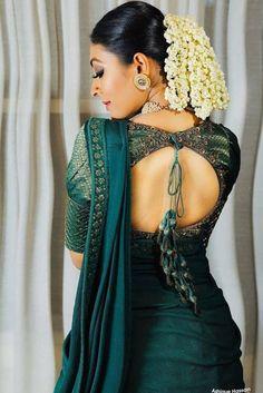 Lehenga Designs, Kurta Designs, Wedding Saree Blouse Designs, Silk Saree Blouse Designs, High Neck Saree Blouse, Saree Jacket Designs, Blouse Patterns, Blouse Designs High Neck, Fancy Blouse Designs