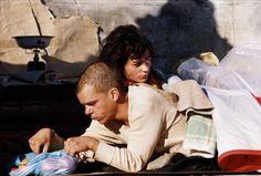 """Denis Lavant, Juliette Binoche dans """"Les amants du Pont-Neuf"""" (Leos Carax, 1991)"""