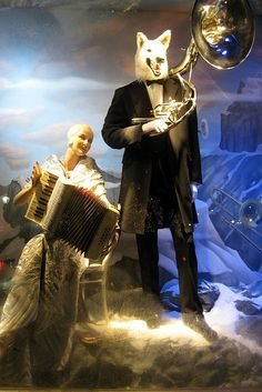 NYC: Bergdorf Goodman's 2008 Holiday window display by wallyg, via Flickr