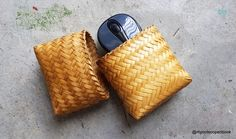 I use Filipino handicraft coin purses to store my tech accessories. These coin purses are usually made from dried Bamboo skins and dried Abaca leaves. By doing this, it keeps my bag organize. It al…