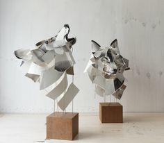 Anna Wili Highfield. Paper sculpture