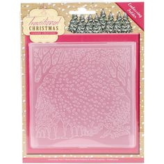 Find It Trading Yvonne Creations Embossing Folder-Traditional Christmas