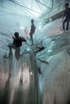 On Space Time Foam by Tomas Saraceno