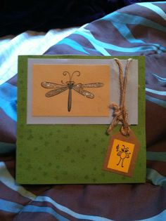 Stampin up-cute as a bug