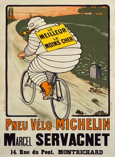 Vintage poster Michelin