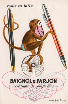 André François vintage ad