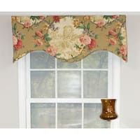 RLF Home Antique Toile Window Valance (Lined - Cornice) Cotton, Floral) Rose Curtains, Tier Curtains, Hanging Curtains, Valance Curtains, Cornice, Drapery, Window Valances, Valances For Living Room, Living Room Windows