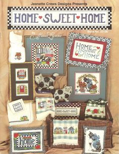 Home Sweet Home booklet
