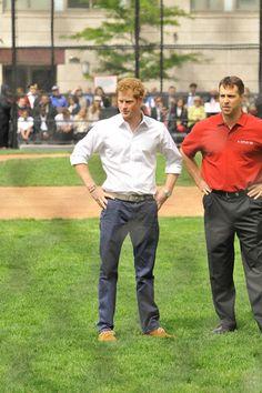 Prince Harry Photos - Prince Harry Watches a Little League Game - Zimbio