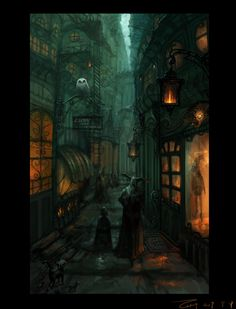 Street alley by ~ZERG118 on deviantART