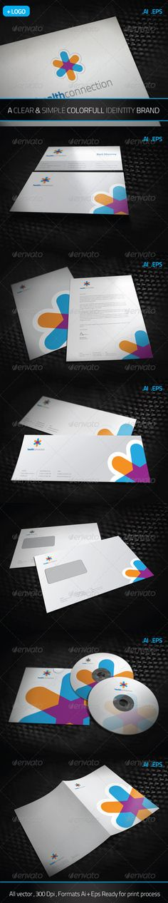 Health Connection Brand Identity - GraphicRiver Item for Sale