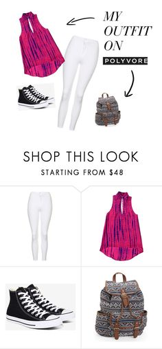 Untitled #473 by sparkle-4 on Polyvore featuring Topshop, Converse and Aéropostale