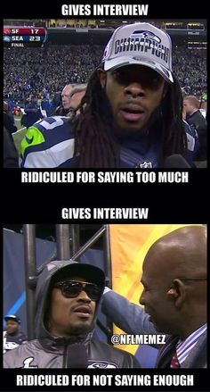 Silly media Like Us Sports Memes! Credit - Harry B Igfoot Football Team Names, Football Memes, Football Cards, Baseball Games, Seahawks Fans, Seahawks Football, Seattle Seahawks, Denver Broncos, Nfl Memes