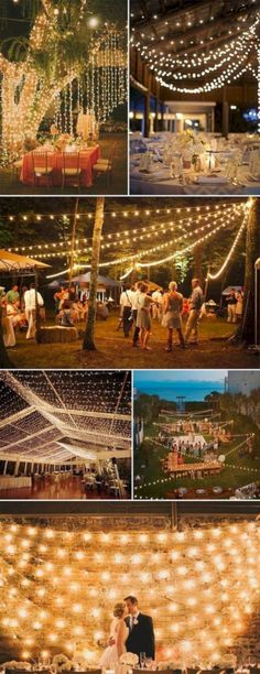 Rustic String Bistro Lights