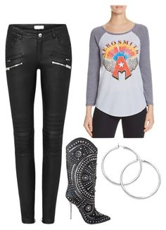 """""""Rock Concert"""" by almacrodriguez on Polyvore featuring Signorelli and Versace"""