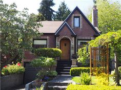 CertaPro Painters of North Seattle #exteriorpainting #brickhouse
