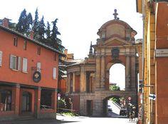 Bologna, arco del Meloncello. by Melisenda2010, via Flickr