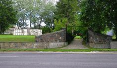 Pioneer Memorial Gardens, pioneer cemetery located on Bond Street, Oshawa