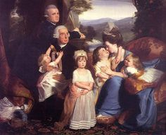 The Copley Family, John Singleton Copley