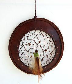 Gourd Slice Dreamcatcher  Item 596 by Susan Ashley by TxWeaver