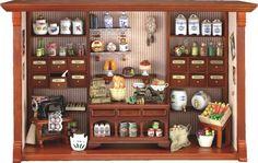 Reutter Porzellan Wandbild Dorfladen 37x24 cm 18622 - Reutter Porzellan - Weitere Marken - Galerista - der Shop für Künstlerpuppen Sammlerbären und Spielpuppen