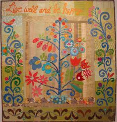 TreeOLife-01 by Becky Goldsmith, via Flickr. Another fabulous quilt from Piece O Cake