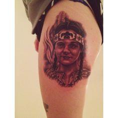 Wednesday Addams tattoo