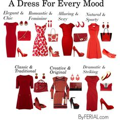 A Dress For Every Mood by ferialyouakim on Polyvore