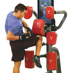The Mixed Martial Arts Trainer - Hammacher Schlemmer (Ryan would love this if it wasn't $7k!!!!)