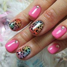 simple nail designs | Print Nail Designs 2014 cheetah print nail designs simple – Nail ...